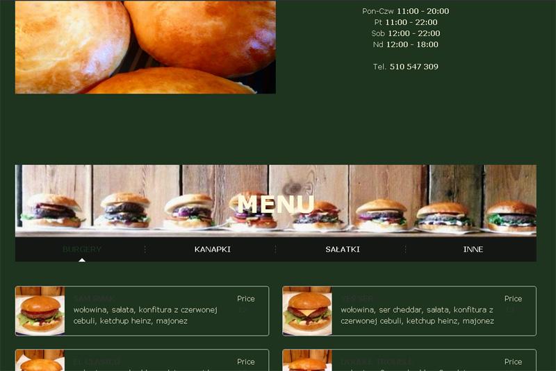 strona www burgery bialystok